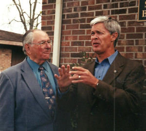 The late Rev. Starns & Stan McNabb discuss plans for the future of Partners for Healing