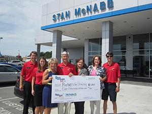Stan McNabb Donation